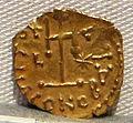 Impero romano d'oriente, teodosio III, emissione aurea, 715-717.JPG