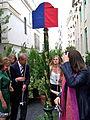 Inauguration rue Gaston-Gallimard 1.JPG