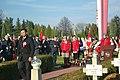 Independence Day 2018 at Central Cemetery in Sanok 03 (Tomasz Matuszewski).jpg