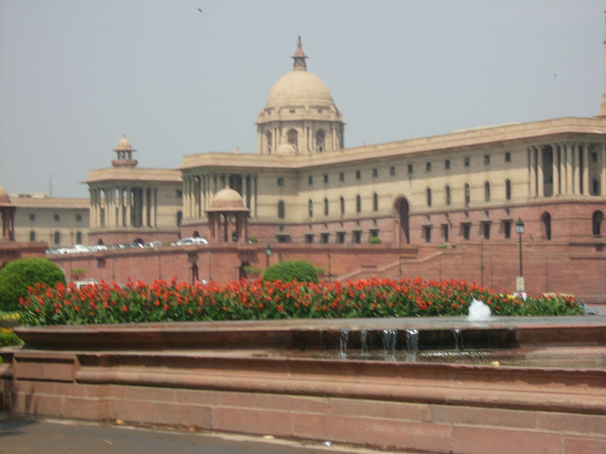 File:Indian Parliament Building Delhi India (3).JPG - Wikimedia Commons