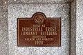 Industrial Trust Building plaque, Providence RI.jpg