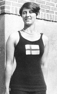 Ingegärd Töpel Swedish diver