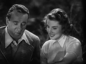 Rage in Heaven - George Sanders and Ingrid Bergman