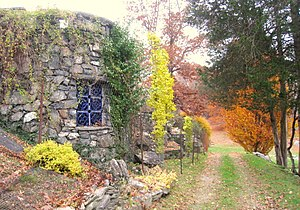 Washington, New York - The Innisfree Garden in October 2009