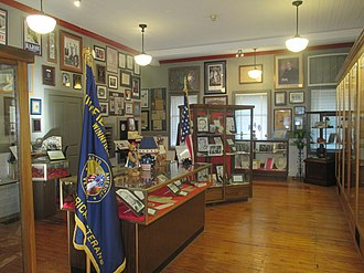 Louisiana Political Museum and Hall of Fame - Inside the museum