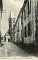 Institution Sainte-Marie et l'église de Cuisery - Rue de l'église.jpg