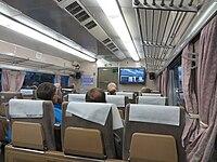 Interior of the Shinkansen 0 Series (geograph 3735731).jpg