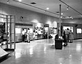 Interior of the Zion Museum space with visitors and children looking at exhibits. ; ZION Museum and Archives Image ZION 8739 (911a1d00a4354141a226cb55318e1738).jpg