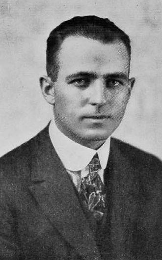 Ion Cortright - Cortright pictured in The Cincinnatian 1917, Cincinnati yearbook