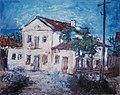 Ion Diaconescu Feredeul vechi din Targu Ocna 1941.jpg