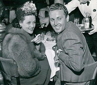 Irene Hervey - Hervey with second husband Allan Jones, 1941
