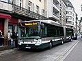 Irisbus Citelis 18 CNG - CTS n°310 line 4 Les halles Pont de Paris.JPG