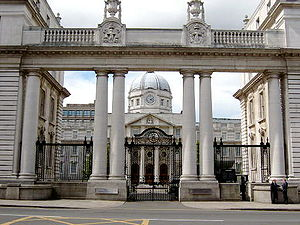 Parliament of Southern Ireland - Image: Irishgovbuildings