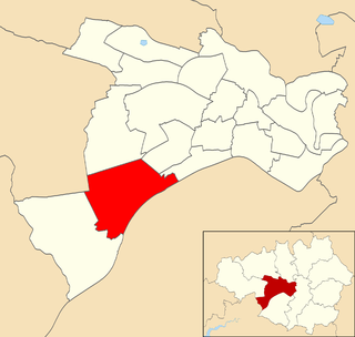 Irlam (ward) Electoral ward in England