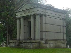 Iron Davis - The mausoleum of Davis in Lancaster, New York