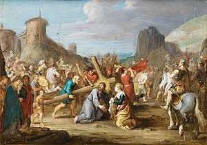 Isabella Francken - The Road to Calvary