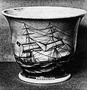 Iserbrook (ship) - Image: Iserbrook Sailors Mug