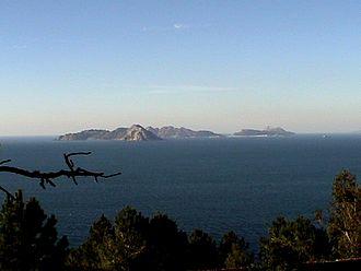 Atlantic Islands of Galicia National Park - Islas Cíes view from Monte Ferro