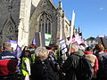 Isle of Wight public sector pensions strike in November 2011 2.JPG