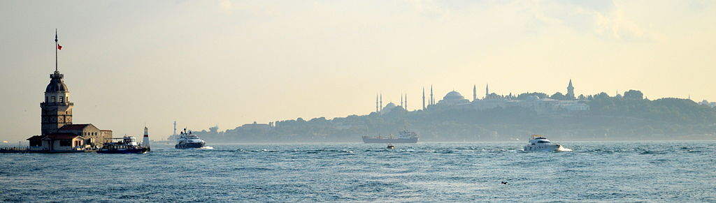Istanbul bogazici siluet