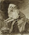 Italian woman warming her hands by K.Brullov (1820s).tif