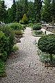 Italianate Garden path at Easton Lodge Gardens, Little Easton, Essex, England.jpg
