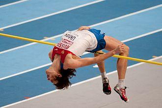 2011 European Athletics Indoor Championships – Men's high jump - Ukhov soars to gold.