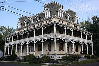 Ivyland, Pennsylvania - Temperance House Hotel