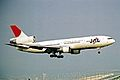 JA8542 2 DC-10-40I Japan Air Lines KIX 19MAY03 (8397016837).jpg