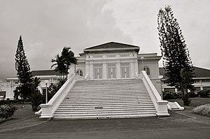 Istana Besar - Steps to the main hall of Istana Besar, Johor Bahru