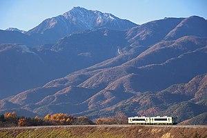 Koumi Line - JR East KiHa 110 series DMU on the Koumi Line