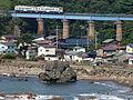 JR East Gono Line Koirikawa Bridge, Happo-cho, Akita Pref.jpg