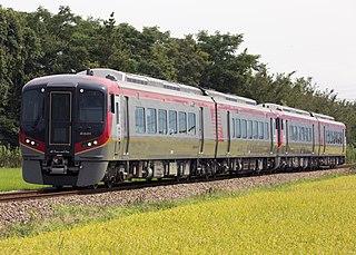 JR Shikoku 2600 series Diesel multiple unit train operated in Japan by JR Shikoku