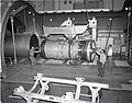 JT-8D REFAN ENGINE BEING REMOVED FROM PROPULSION SYSTEMS LABORATORY PSL TANK 4 - NARA - 17425563.jpg