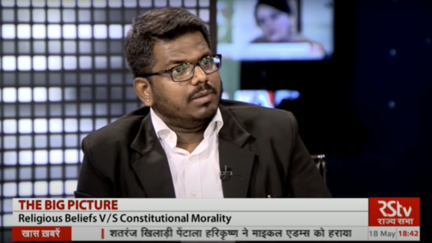J Sai Deepak,2017 (On RSTV).png