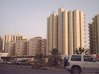 Jabriya City in Hawalli Governorate, Kuwait