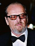 Photo of Jack Nicholson in 2002.
