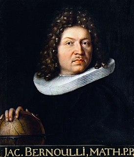 Jacob Bernoulli Swiss mathematician