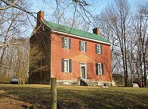 James Bradley House - The James Bradley House in 2010