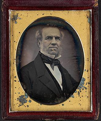 James Haughton (reformer) - Daguerreotype of Haughton circa 1846