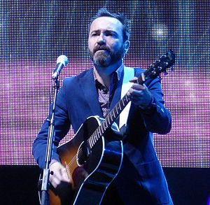 James Mercer (musician) - James Mercer performing in 2014