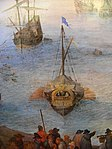 Jan Brueghel d.Ä.- Großer Fischmarkt-Detail 3. Schiff v.l.jpg