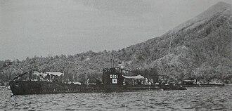 Ro-100-class submarine - Image: Japanese submarine Ro 101 in 1943