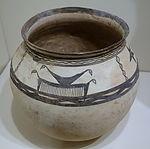 Jar, Giyan IV type, Western Iran, 2500-2000 BC, earthenware with slip-painted decoration - Cincinnati Art Museum - DSC03958.JPG