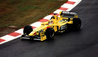 2000 Belgian Grand Prix - Jarno Trulli qualified in the front row of the grid, behind Mika Häkkinen.