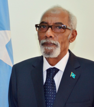 Federal Parliament of Somalia - Mohamed Osman Jawari, Speaker of the Federal Parliament.
