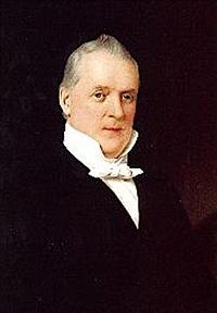 Official White House portrait of James Buchanan
