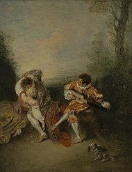 Jean-Antoine Watteau - La Surprise (Getty Center).jpg