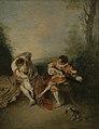 Jean-Antoine Watteau - La Surprise (Getty Center).jpg