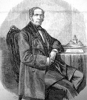Jean-Baptiste Louis Gros - Baron Gros in 1858